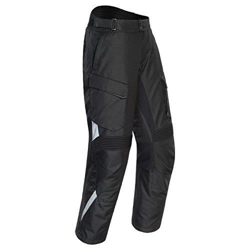 (Tour Master Caliber 2.0 Mens Textile Street Motorcycle Pants - Black/Medium)