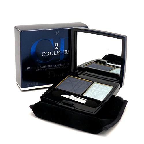 Christian Dior 2 Color Eye shadow for Women, No. 185 Watery Look, 0.15 Ounce