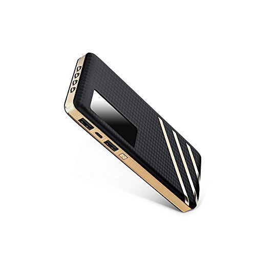 Fritesla 12500mah Power Bank Portable Charger for Smartphones (Black)