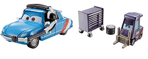 Disney/Pixar Cars E. Manual Maniez and Chief Bruno Motoreau Vehicle 2-pack