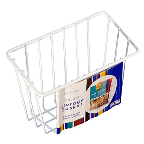 MD Group Wire Storage Basket - Small, 4'' x 3'' x 1.5 lbs