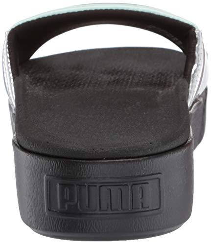Slide Silv PumaPlatform puma Femme Black qzSUMpVG