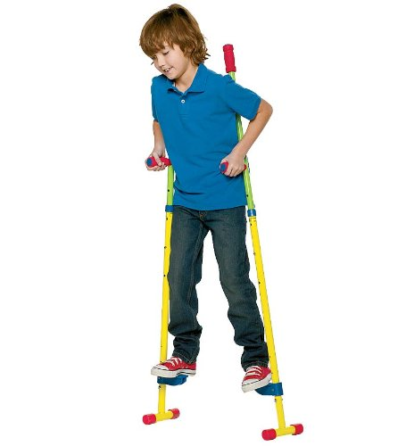 ALEX Ready, Set, Stilts with with Removable Training Feet by ALEX Toys