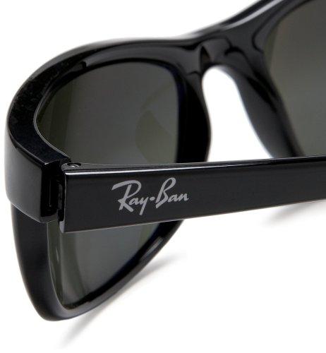 Ray-Ban RB2027 Predator II Sunglasses, CRYSTAL MIRROR GREY - Black
