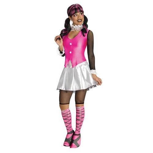 Deluxe Draculaura Costume - Medium - Dress Size 10-12