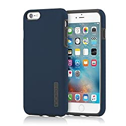 Iphone 6s Plus Case Incipio Dualpro Case Shock Absorbing Cover Fits Both Apple Iphone 6 Plus Iphone 6s Plus Navy Blue Charcoal