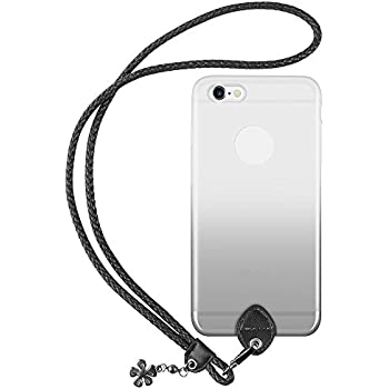 iphone lanyard case pzoz iphone 6 plus lanyard silicone 7112