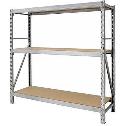gorilla rack gr7300 s23 3 shelf 77 by 24 by 72 inch package rack rh amazon com gorilla rack shelving gorilla rack shelving replacement parts