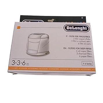 Delonghi - Kit de filtros antiolores y antivapor para freidora: Amazon.es: Hogar