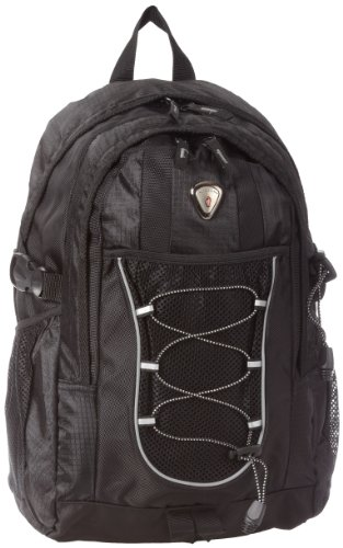 CALPAK Westside Black 18-inch Deluxe Backpack With Laptop Compartment