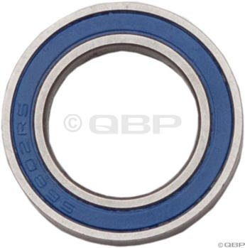 ABI 6802 Sealed Cartridge Bearing, Stainless Races 2rs Bike Wheel