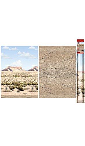 Cars Desert Scene Setters Room Roll Mural- Pack of 2, Indoor - Outdoor