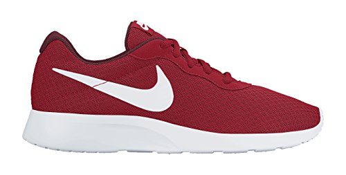 Nike Men's Tanjun Running Sneaker University Red/White-Team Red 8.5