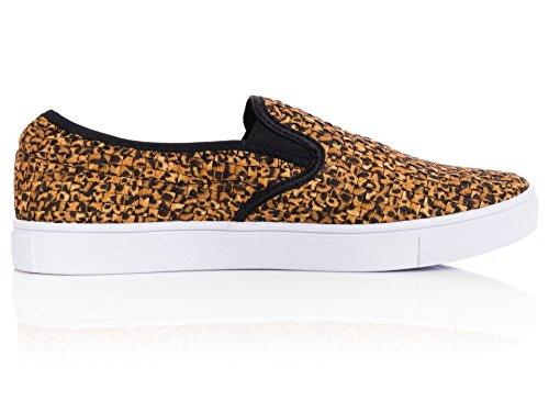 Bernie Mev Kvinners Verona Joggesko (39, Leopard) sko