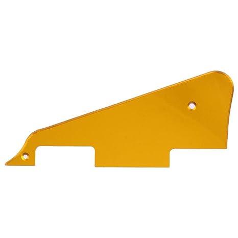 Trendyest - Placa de rascador para guitarra eléctrica Gibson Les Paul (2 orificios),