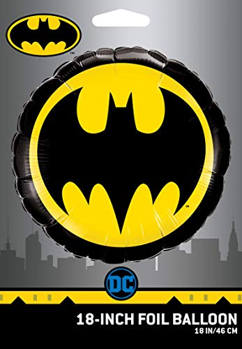 DC Comics Batman Logo Foil Balloon 18