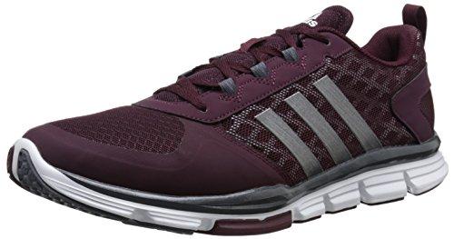 888591556904 - adidas Performance Men's Speed Trainer 2 Training Shoe, Maroon/Carbon Metallic/Tech Grey/Metallic, 10 M US carousel main 0