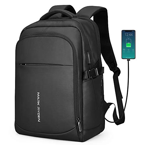 Markryden 2019 Laptop Backpack Business Bags with USB Charging Port School Travel Pack Fits Under 15.6 Inch Laptop