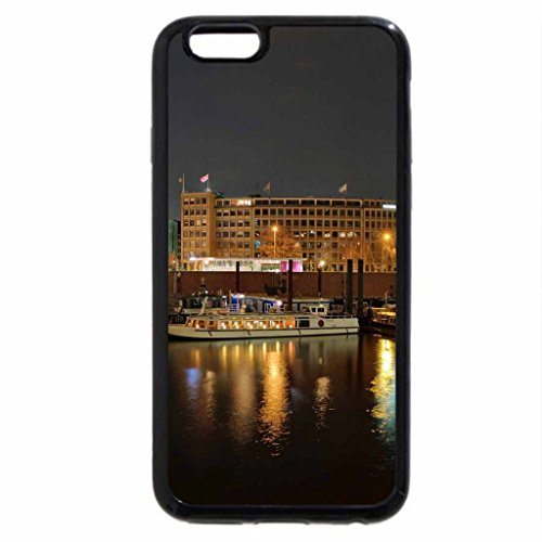 iPhone 6S / iPhone 6 Case (Black) Hamburg