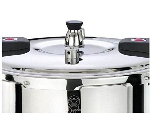 Buffalo Stainless Steel 12-Quart Pressure Cooker [Classic series]