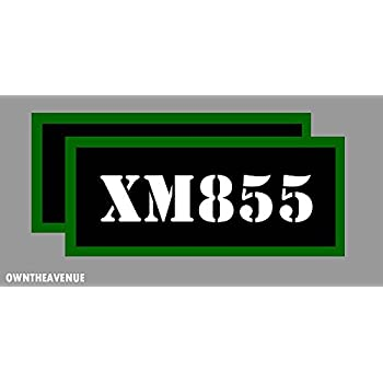 308 WIN  Ammo Can Label 4x Ammunition Case stickers decals 4pack YW MINI 1.5in