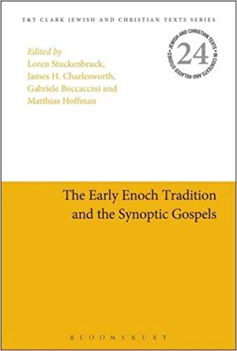 Gratis pdf bøker direkte nedlasting The Early Enoch Tradition and the Synoptic Gospels (Jewish and Christian Text) 0567668983 (Norwegian Edition) PDF ePub