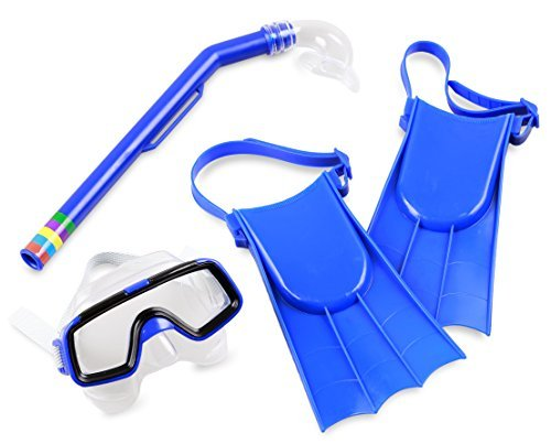 Balance Living Fins, Mask and Snorkel Pool Toy Set (for Ages ()