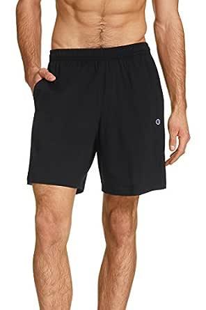 Champion Men's Jersey Short, Black, Medium