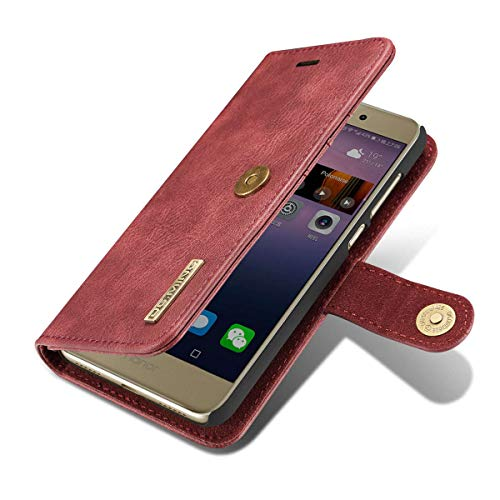 Amazon.com: Funda de piel tipo cartera para Huawei P8 Lite ...