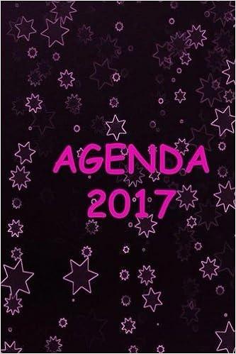 Agenda 2017: Blogger Rosa/Negro (Spanish Edition): CH ...
