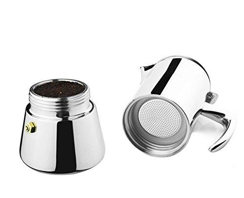 KCHAIN Stainless Steel Espresso Coffee Maker 200mL