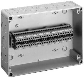 Caja de derivación de carril DIN IP66/de pared y de techo 180 x ...