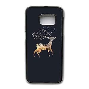 Samsung Galaxy S7 Edge Case, Deer Printed Pattern Premium Custom Slim Protective Case for Samsung Galaxy S7 Edge