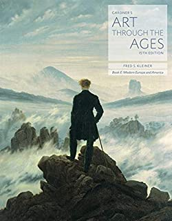 bundle gardners art through the ages backpack edition book e modern europe and america loose leaf version 15th lms integrated for mindtap art 1 term 6 months printed access card