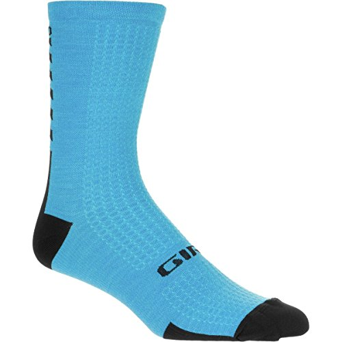 Giro HRc Plus Merino Wool Sock Blue/Black, XL - Men's