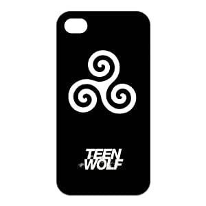 Teen Wolf Custom TPU Case Cover Protective Skin For Iphone 4 4s iphone4s-NY976