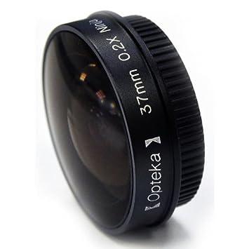 Opteka Platinum Series 0.2X Low-Profile Ninja Fisheye Lens for 25mm Camcorders