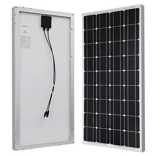 Renogy 100 Watts 12 Volts Monocrystalline Solar Panel (The Best Solar Panels For Your Home)