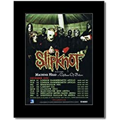 SLIPKNOT - All Hope Is Gone UK Tour 2008 Mini Poster - 28.5x21cm