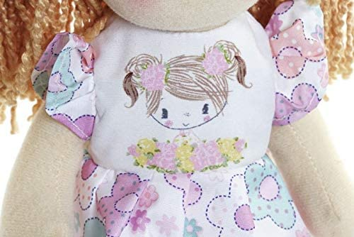 Rosa Regalos de los Ni/ños 30 CMS SMG/® Mu/ñecas de Peluche Mu/ñecas Trapo Bebe de Encantador Dulce Ni/ña