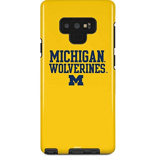 Skinit University of Michigan Galaxy Note 9 Pro Case - Michigan Wolverines Design - High Gloss, Scratch Resistant Phone Cover