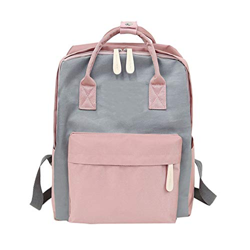 Canvas Girl Fashion Travel Shoulder Women Tote School Gray Students Bag Bag Backpack t44r7xq6