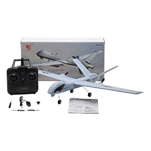 DIY RC Airplane Eemote Control --Z51 2.4G EPP 660mm Wingspan Built-in stability Gyro System/EPP Anti-collision Material --With Light Bar DIY RC Airplane RTF(Install Light Bar fly at night) Cool by COLOR-LILIJ (Image #8)