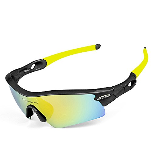 de polarisées Color Lunettes 01 Protection 1 Clarity 1 Yellow UV400 Soleil Black Hommes de 2 de Soleil Lunettes extérieures WEATLY Lunettes awxqYfI0Z