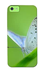 Graceyou Tpu Case For Iphone 4/4s With White Butterfly , Nice Case For Thanksgiving Day's Gift