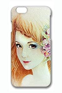 Anime Gril 02 Slim Hard Cover for iphone 4 4s Case PC 3D Cases