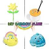 6 Colors-Fluffy Slime Butter Slime Kit, Scented