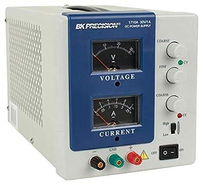 B&K Precision 1710A Analog DC Power Supply (0-30V, 0-1A)