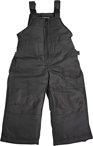 Weather Tamer Weathertamer - Toddler Boys Bib Snowpants, Black 40023-3T (Toddler Boys Snow Pants)
