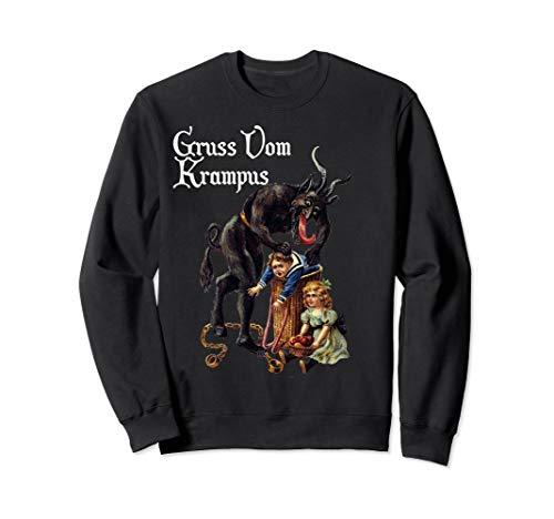 Greetings from Gruss Vom Krampus Sweatshirt